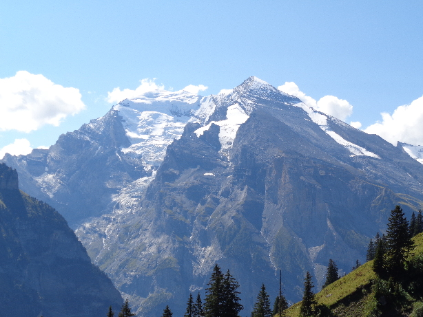 Balmhorn (3699m) and Altels (3624m)