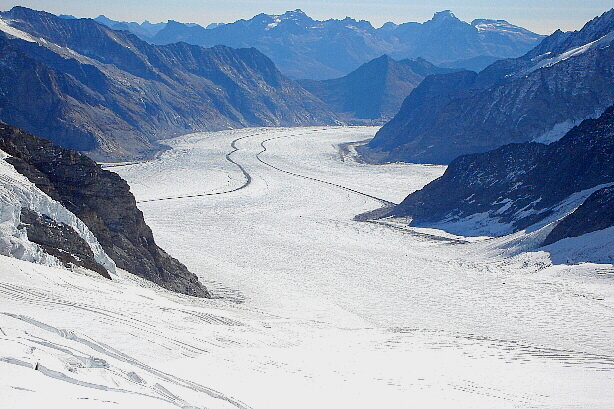 Great Aletsch glacier / Grosser Aletschgletscher